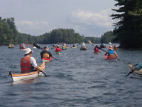 Canoe Club Open House at the Cataraqui Boathouse (Woolen Mill)
