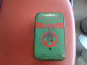 Boy Scout first aid kit box