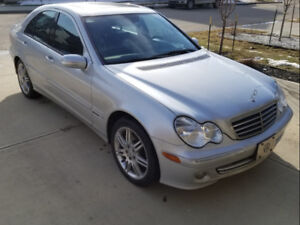 2007 MERCEDES BENZ C280 4MATIC LUXURY SEDAN FOR SALE