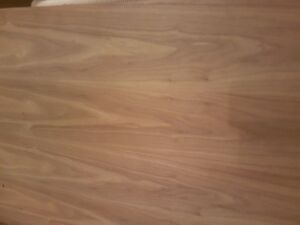 Walnut or cherry plywood sheets