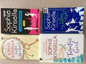 Sophie Kinsella Novels Set of 4
