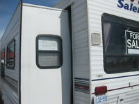 25ft Salem by Forest River  5th wheel trailer