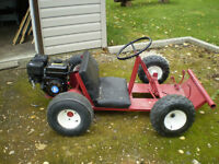 GO CART FOR SALE NEW MOTOR AND CLUTCH