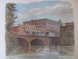 THE RIDEAU CANAL STORY PRINTS Cornwall Ontario image 10