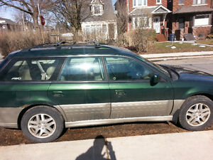 2003 Subaru Outback Wagon-$500 Runs-As Is