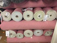 Clearance Stock lot pink Denim Fabric
