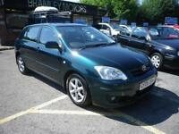 2005 Toyota Corolla 1.6 VVT-i T Spirit * EXCELLENT LOW MILEAGE EXAMPLE