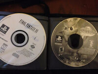 Selling Spyro Year of the Dragon and Final Fantasy 7 for PS1