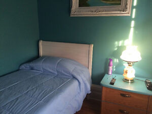 Loft Bedroom in St. Thomas. Available May 1st.  All Incl.