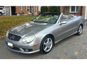 2004 Mercedes Benz CLK500 Convertible AMG