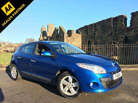 2010 Renault Megane 1.6 ( 110bhp ) Dynamique Tom Tom *Bright Blue - SAT NAV*
