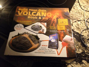 Volcano - Build Your Own Volcano Book and Kit - NEW