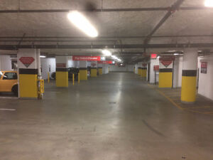 Indoor Parking at West Broadway and Maple