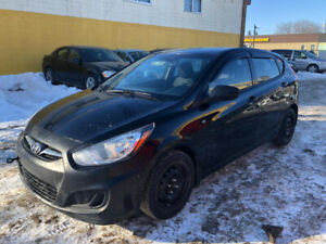 2014 HYUNDAI ACCENT GL-4 CLYNDER GREAT ON GAS