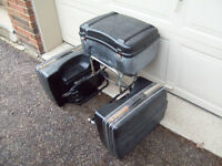 Krauser saddle bags panniers & trunk off Honda GL1000 Goldwing