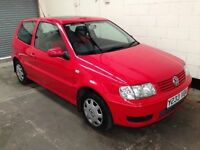 Volkswagen Polo 1.4 Match Fsh Sun Roof Cd Ideal First Time Car 12 Month Mot 3 Month Warranty