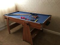 Hy-Pro 5ft Pool and Air Hockey Table