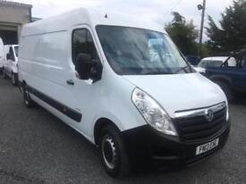 Vauxhall Movano 2.3CDTI L3H2 LWB 3500 and only 56,000 miles