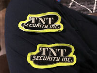 Security guards and support staff