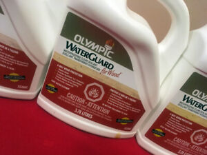 5 Gallons Olympic Deck Water Sealant SEE VIDEO