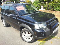 LEFT HAND DRIVE Land Rover Freelander 2005 Automatic LHD