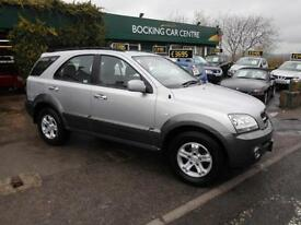 Kia Sorento 2.5CRDi XS 4X4 DIESEL FULL LEATHER FULL MOT 2006 EXCELLENT
