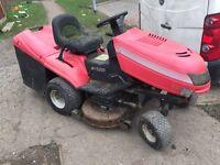 Motec. sit on lawn mower runs fine £220 need tlc
