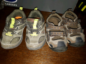 Toddler size 5 shoes- willing to trade!