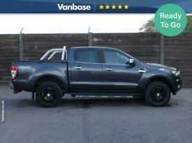 2017 Ford Ranger Pick Up Double Cab Limited 2.2 TDCi 150 4WD Auto PICK UP Diesel