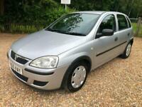 2005 Vauxhall Corsa 1.0i 12V Life 5dr HATCHBACK Petrol Manual