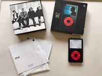 Rare Boxed Apple iPod Classic 5th Generation U2 Special Edition Black/Red (30GB)