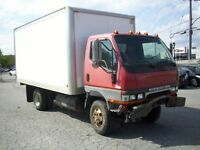 MITSUBISHI FUSO FG639 4X6 TURBO DIESEL ACCIDENTE