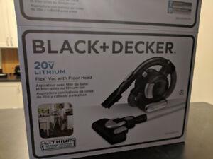 Black and Decker portable vacuum