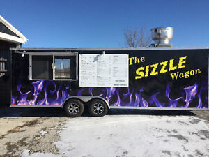 Turn Key 26 Ft Fully Equipped Food Trailer