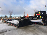 Aspen Custom Trailers - 55 Ton Tri-axle Trailer - Ironhorse