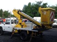 Land Rover 130 Defender 13.2 meter powered accses platform