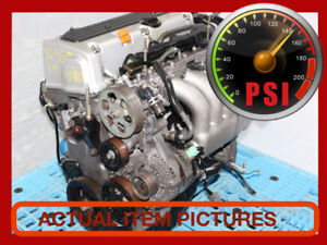 JDM HONDA ACCORD K24A 2.4L VTEC DOHC ENGINE 03-06