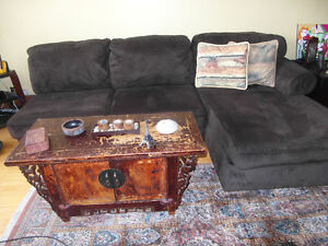 Sofa for sale (and a chest box)