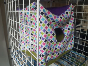 Ferret hammocks and cage covers