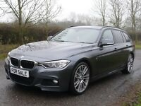 BMW 3 SERIES 3.0 330d M SPORT TOURING (grey) 2014