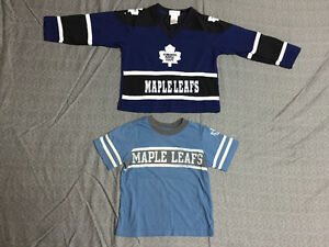 Size 3T Maple Leafs tops $5 for both
