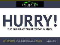2008 08 SMART FORTWO 1.0 PURE 2D 61 BHP