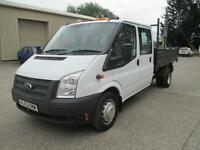 2012 Ford Transit 2.2TDCi 100PS RWD 350L Double cab 350 LWB DRW euro 5 pick up