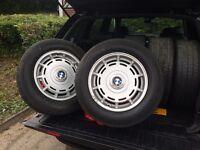 BMW m535 alloy wheels