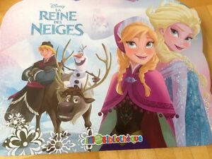 Kit Frozen : 3 livres et un puzzle pour 2-4 ans West Island Greater Montréal image 2
