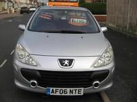 2006 PEUGEOT 307 1.6S FIVE DOOR HATCHBACK