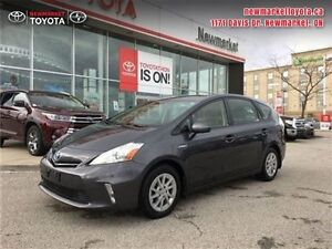 2014 Toyota Prius V   ONE OWNER, ACCIDENT FREE, TOYOTA CERTIFIED