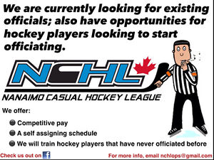 Referees Wanted