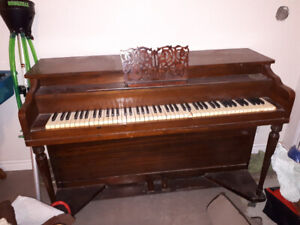 I have a free upright piano needs a little tlc you must pick up