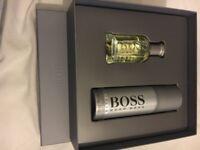 Brand new men's Hugo boss gift set